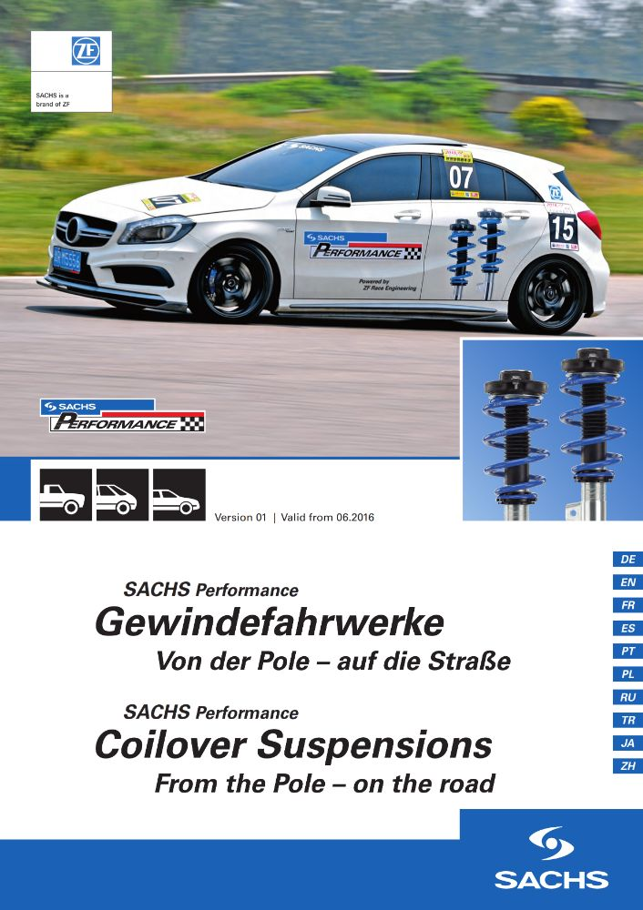 SACHS PERFORMANCE COILOVER